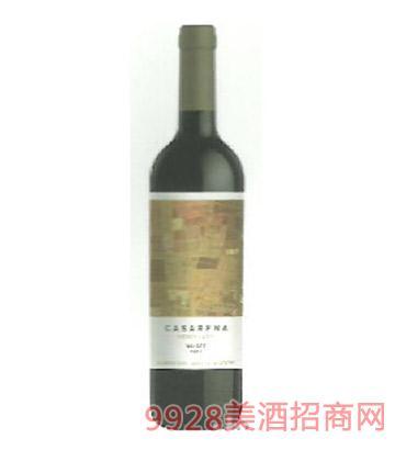 卡萨雷娜珍藏干红葡萄酒