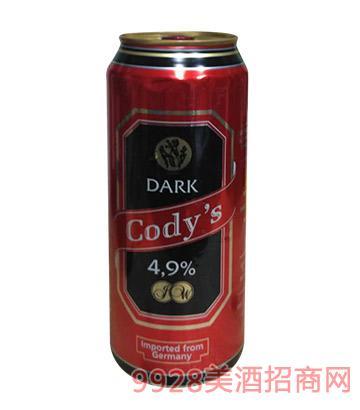 古帝思黑啤啤酒