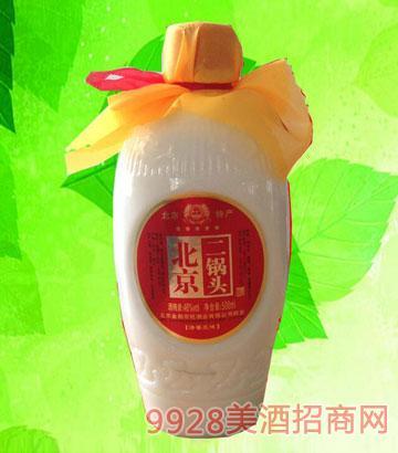 北京二锅头56度500ml白瓷瓶酒