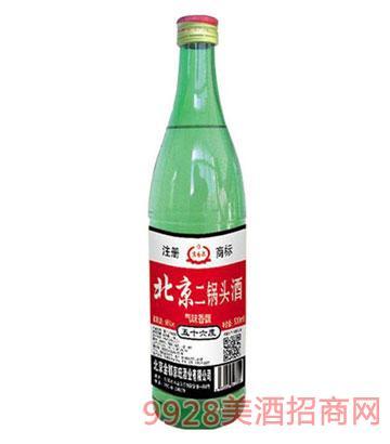 北京二锅头56度500ml大绿瓶酒