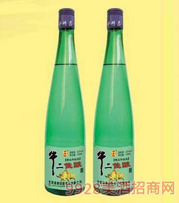 牛二佳酿250ml半斤绿瓶酒