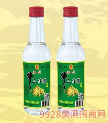 牛二佳酿酒250ml半斤白瓶