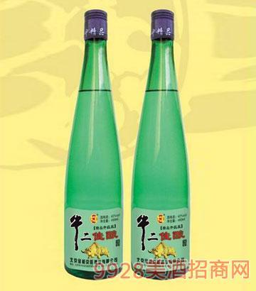 牛二佳酿酒480ml绿瓶