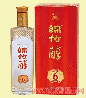 绵竹醇醇香6酒