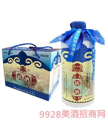 蒙古风品味草原奶酒
