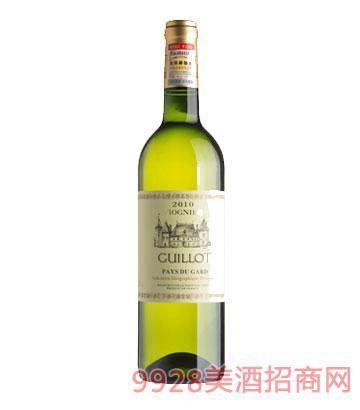 法国吉洛白葡萄酒(维欧尼)2010