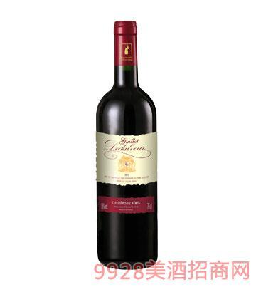 法国吉洛德塔浮红葡萄酒2013