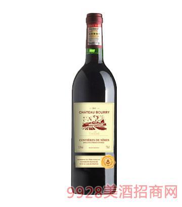 法国吉洛布利城堡红葡萄酒2011