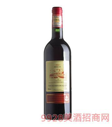 法国吉洛干红葡萄酒(美露)2012