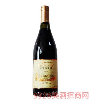 歌曼尼干红葡萄酒
