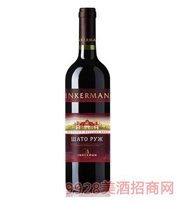 克里米亚赤色庄园红葡萄酒