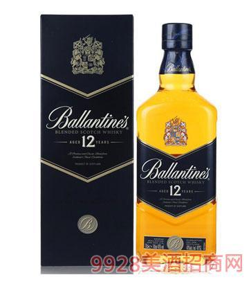 百龄坛12年威士忌700ml
