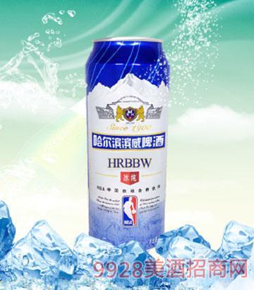 500ml哈尔滨滨威啤酒