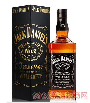 杰克丹尼威士忌700mlx12