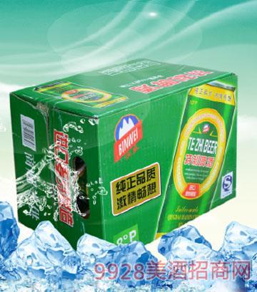 500mlx12罐 濱威純生態啤酒