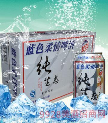 320mlx24罐 蓝色柔情纯生态啤酒