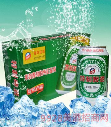 320mlx24罐 滨威特制啤酒