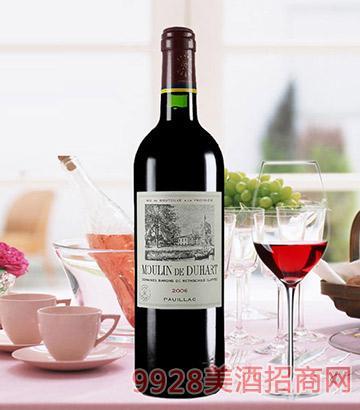 杜哈磨坊干红葡萄酒