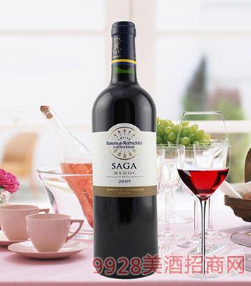 传说梅多克干红葡萄酒