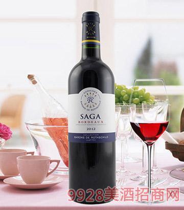 传说波尔多红葡萄酒