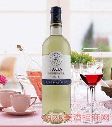 传说波尔多干白葡萄酒