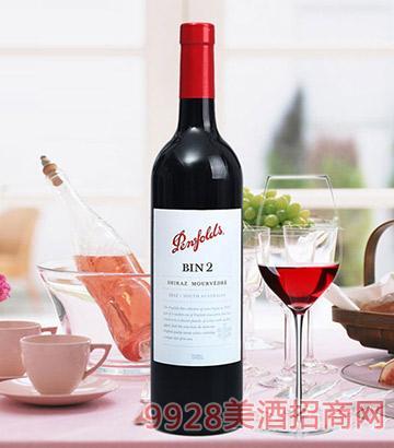 澳洲进口红酒-奔富bin2干红葡萄酒