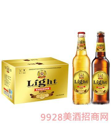 青岛德谷原浆啤酒330mlx24