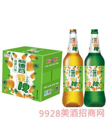 500ml青岛德谷果啤啤酒