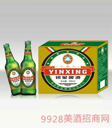 银星啤酒500ml