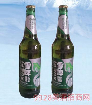 雪啤麦香啤酒500ml600ml
