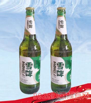雪啤啤酒500ml600ml