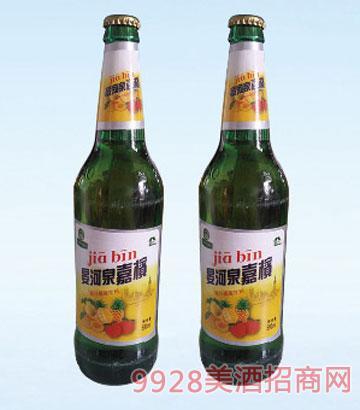 晏河泉嘉槟啤酒500ml600ml