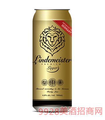 狮子亨利黄啤啤酒