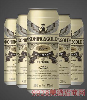 德国领鹰黄啤啤酒
