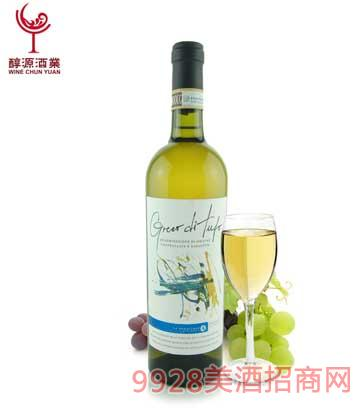 格莱克干白葡萄酒