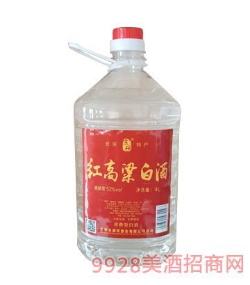 红高粱白酒4L