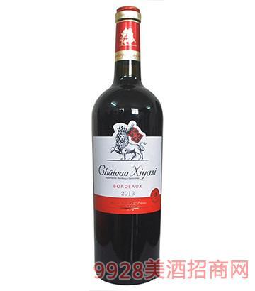 茜娅丝美乐干红葡萄酒