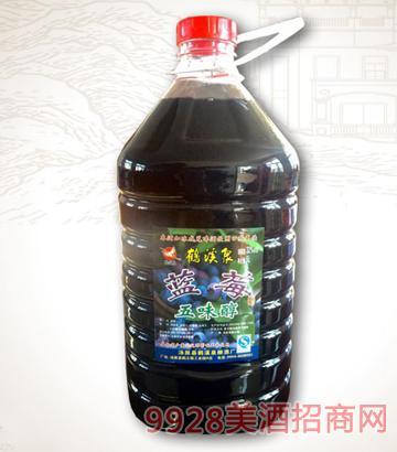 蓝莓五味醇桶装酒
