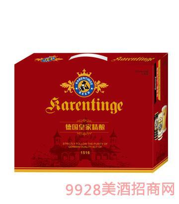德国精酿啤酒红色箱装