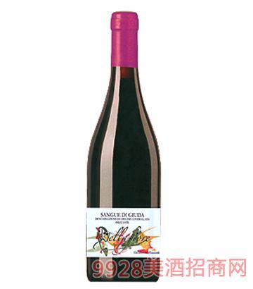 犹大之血微甜红葡萄酒