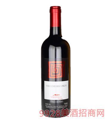 皮埃蒙特·老印象干红葡萄酒