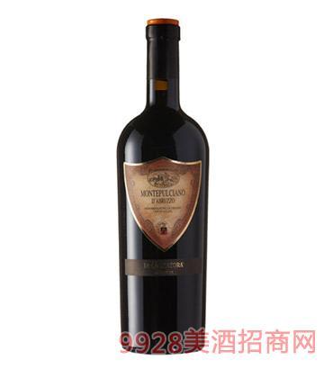 意大利紅鼎一號蒙帕賽諾干紅葡萄酒