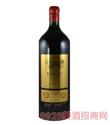 云朗男爵家族城堡红葡萄酒6L