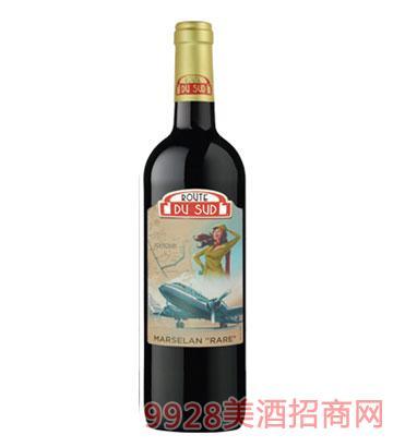 南法风情飞行员红葡萄酒