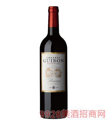 露桐波尔多珍藏红葡萄酒