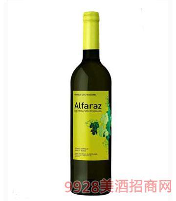 阿法拉斯精�x白葡萄酒