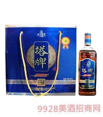 时尚淡雅黄酒500ml