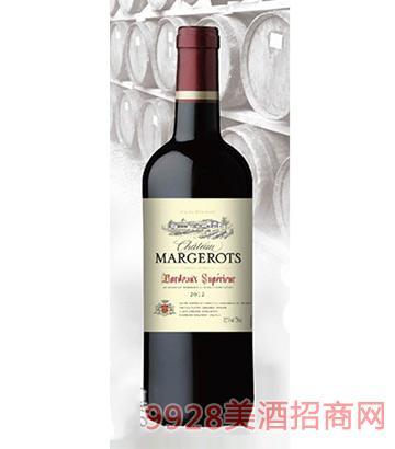 法国波尔多AOC玛吉干红葡萄酒