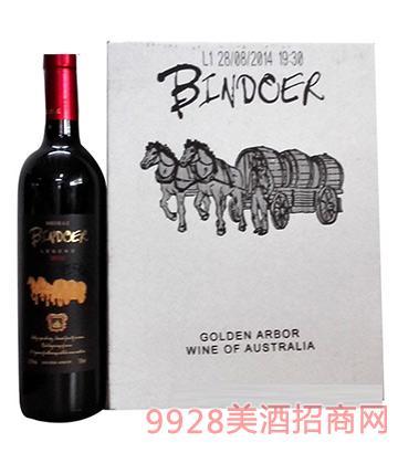 澳大利亚宾道干红葡萄酒