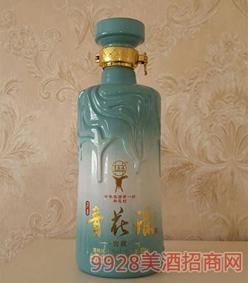 45度青花瑶酒窖藏